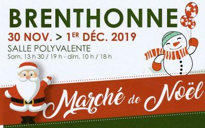 Nansca présent au Marché de Noël de Brenthonne les 30 novembre et 1er décembre