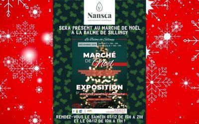 (Re)découvrez Nansca au Marché de Noël de La Balme de Sillingy ces 7 et 8 décembre
